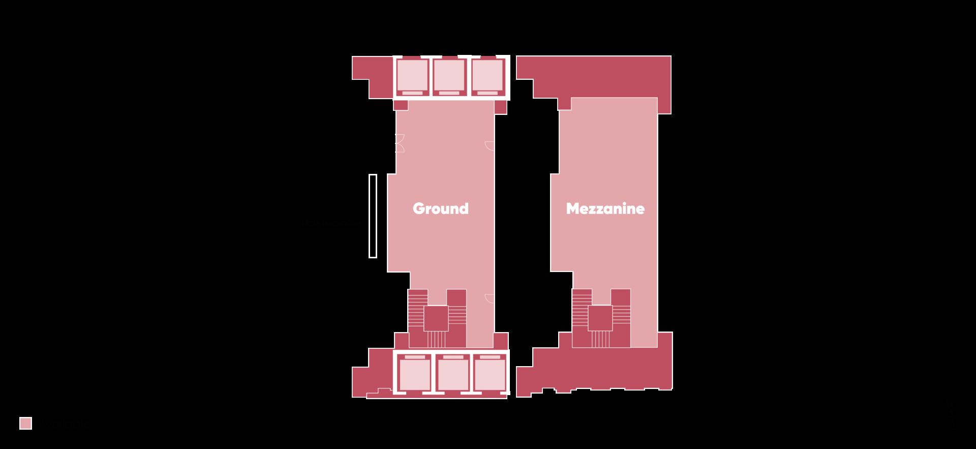 Floorplan of HX Suite