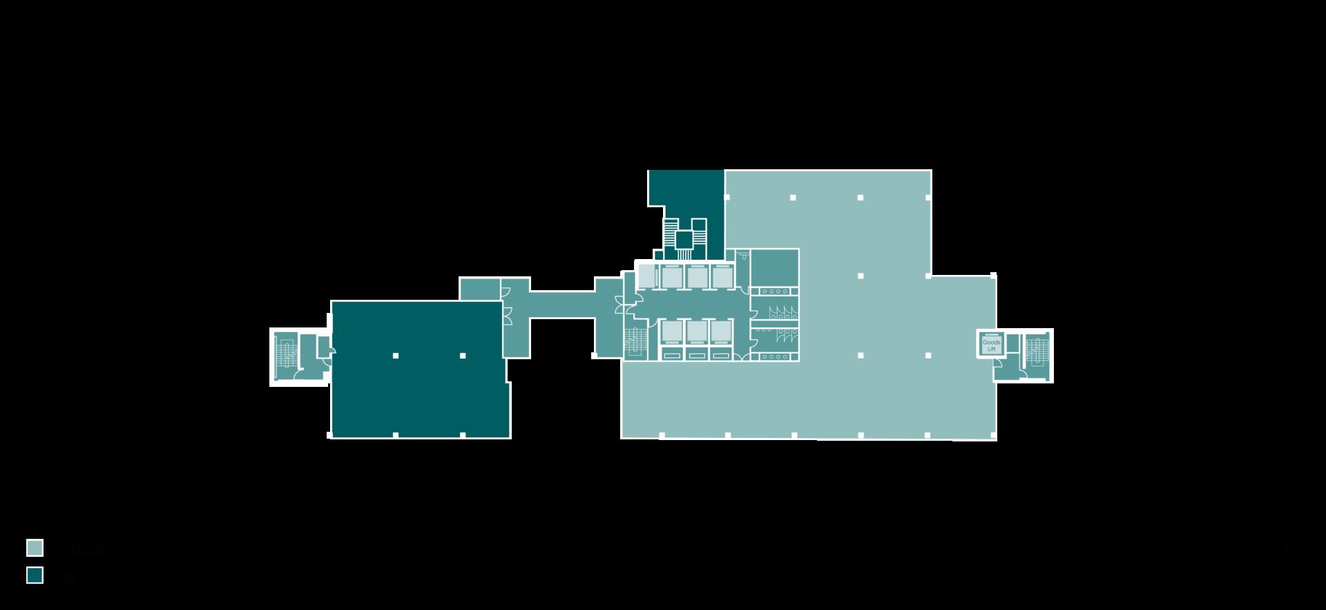 Floorplan of HX2 level 1